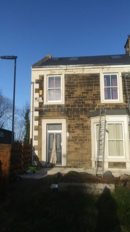 Exterior painting in Gosforth Newcastle